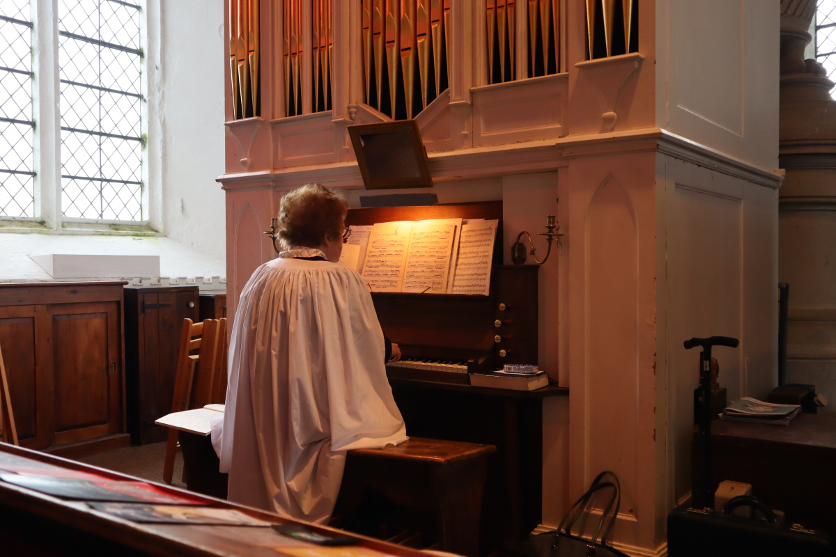 all saints organ